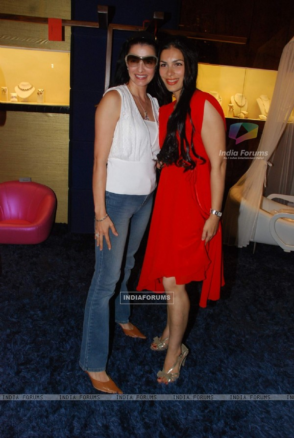 Namrata Barua''s designer furniture launch in association with TBZ at Bandra