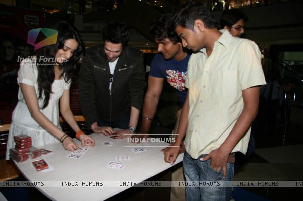 Teen Patti star cast at Oberoi Mall in Goregaon