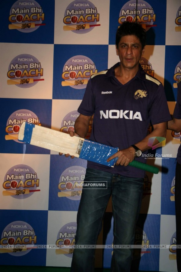 Shahrukh Khan at Nokia press meet, ITC Grand Maratha