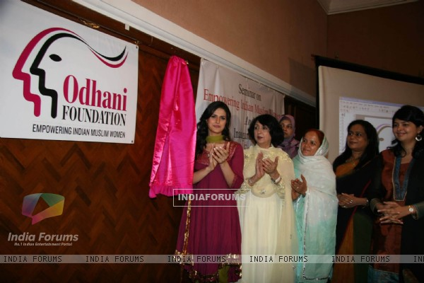 Zarine Khan at Muslim Women empowerment event organised by Odhani foundation