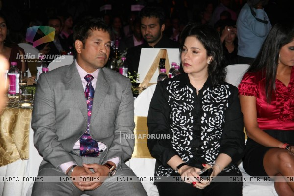 Sachin and Anjali Tendulkar at Sports Illustrated Awards