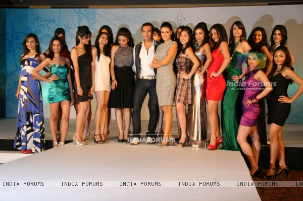 Neha Dhupia and Tanushree shortlist Femina Miss India Finalists at Novotel, Juhu on Monday Afternoon