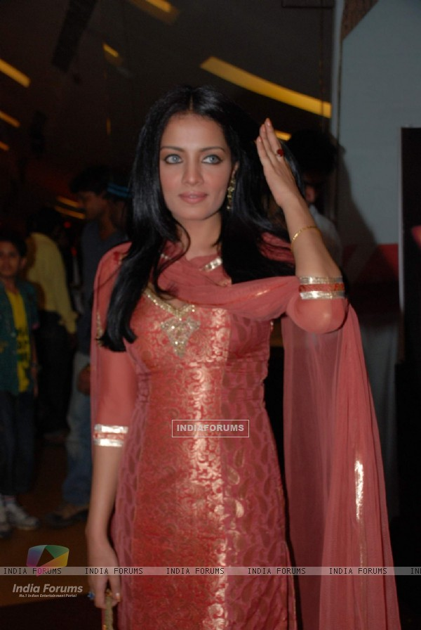 Celina Jaitley at the Premiere of Film Lahore at Cinemax