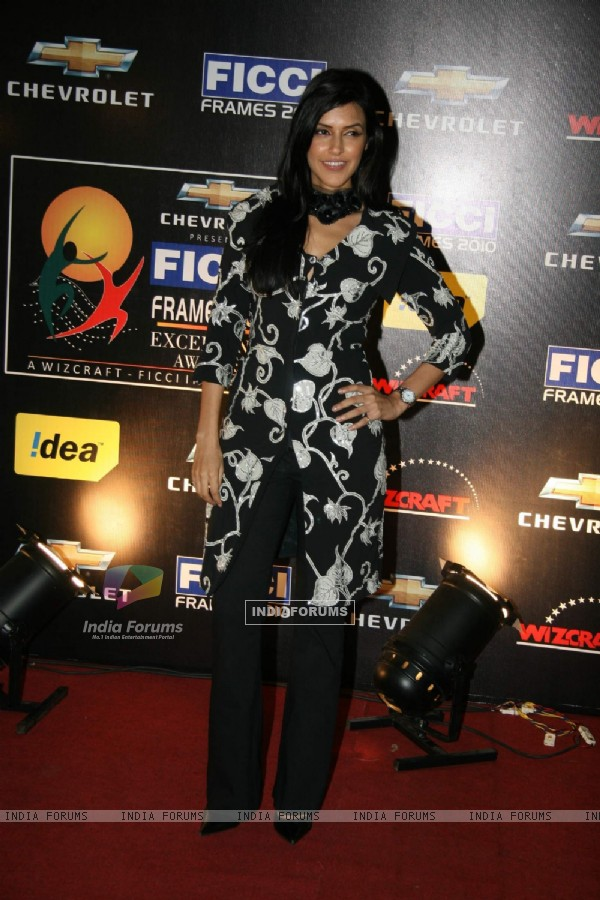 Neha Dupia at FICCI frames final day at Rennaisance, Powai