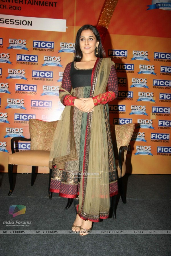 Vidya Balan at FICCI frames final day at Rennaisance, Powai