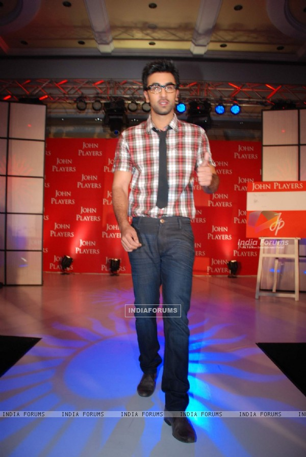 Ranbir Kapoor as the new brand ambassador of John Players at ITC Parel
