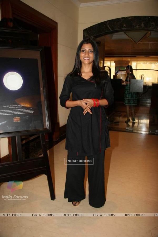 Konkona Sen Sharma Promotes Nerloca Paints at ITC Parel