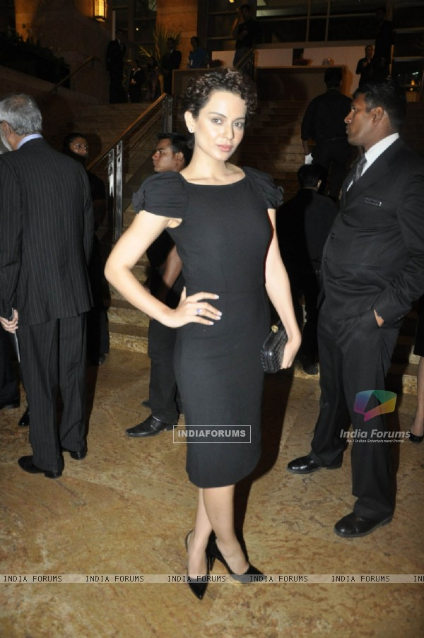 Kangana Ranaut at grace Haiti Earthquake Fundraiser Auction, Grand Hyatt Mumbai