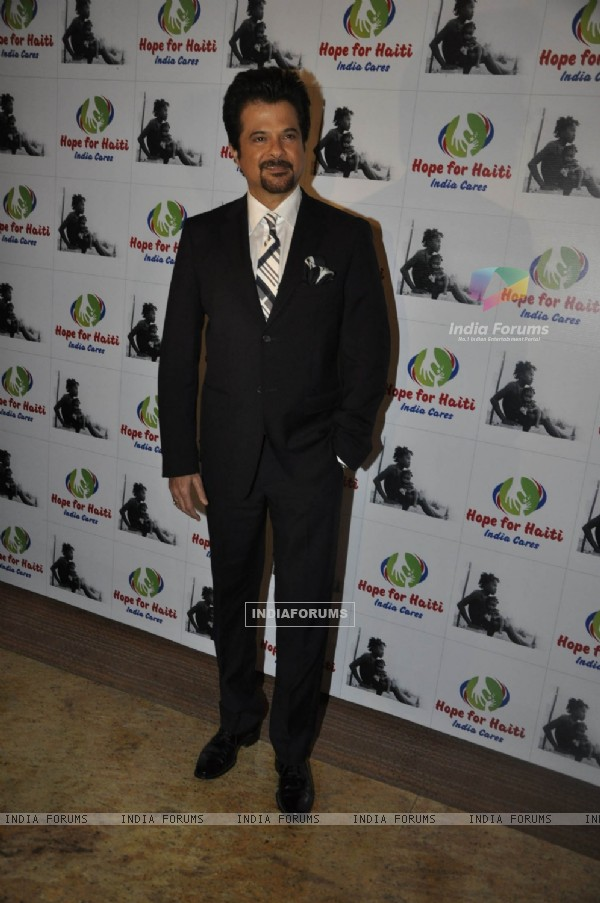 Anil Kapoor at grace Haiti Earthquake Fundraiser Auction, Grand Hyatt Mumbai