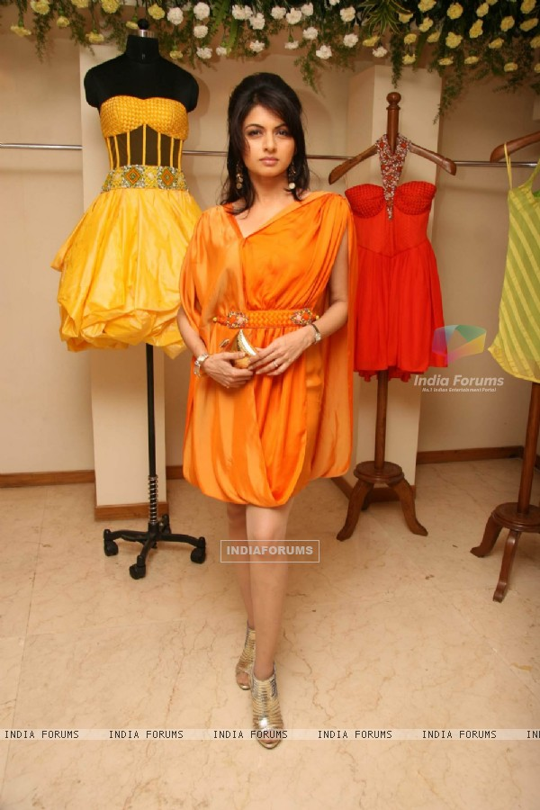 Bhagyashree at Nisha Sagar launches her Summer wear collection