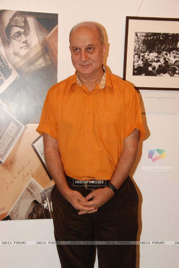 Anupam Kher launches book ''HISTORY IN THE MAKING'' by phootgrpaher Aditya Arya at NCPA