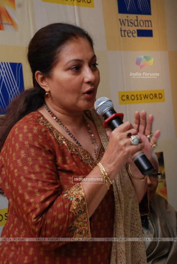 "TV actress Smita Jaykar at the book launch of ""Road to Shirdi"" at Crossword at Bandra"