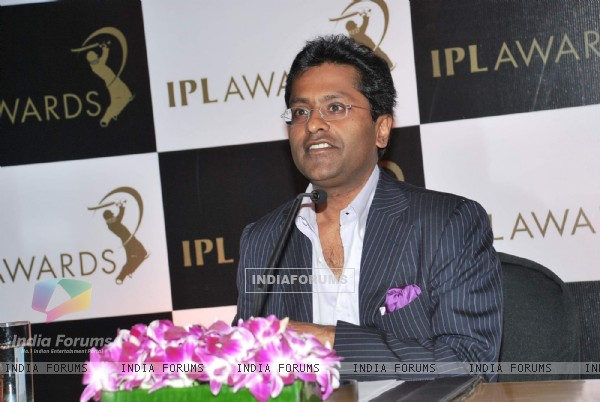 Lalit Modi announces IPL Awards at Grand Hyatt