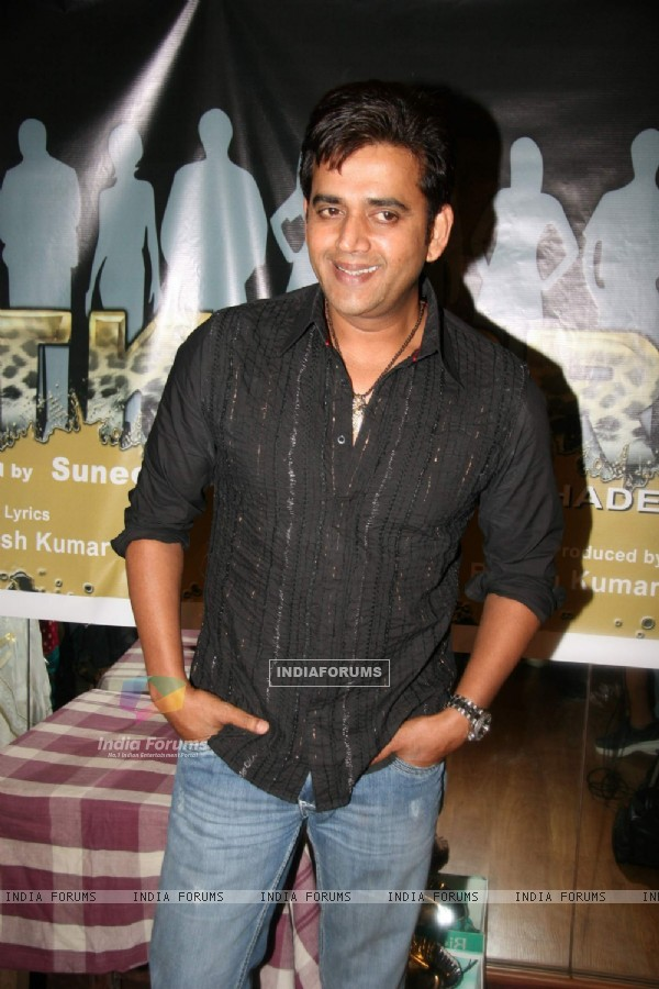 Ravi Kissan at Chitkabre - Shades of grey film audio recording at Andheri