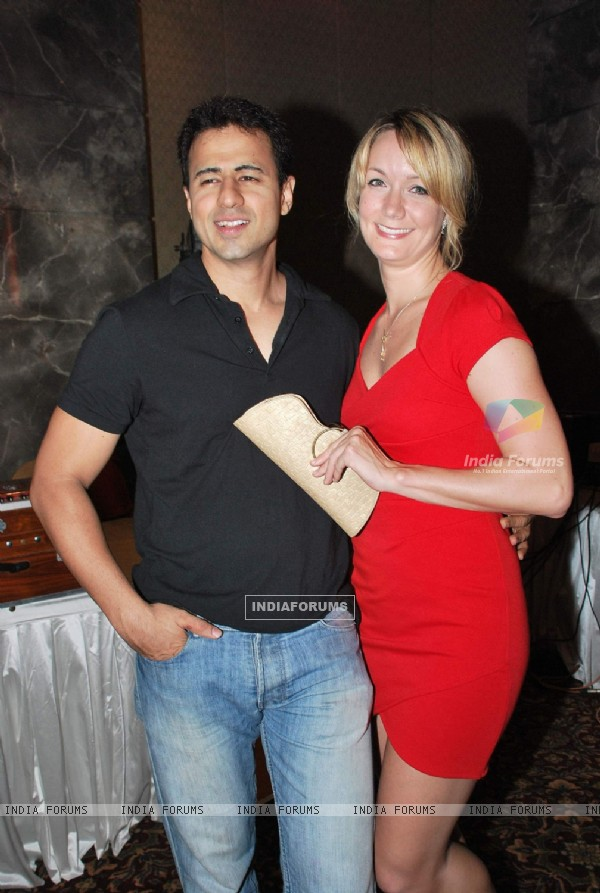 Aryan Vaid at Amrapali film launch at Hotel Sea Princess