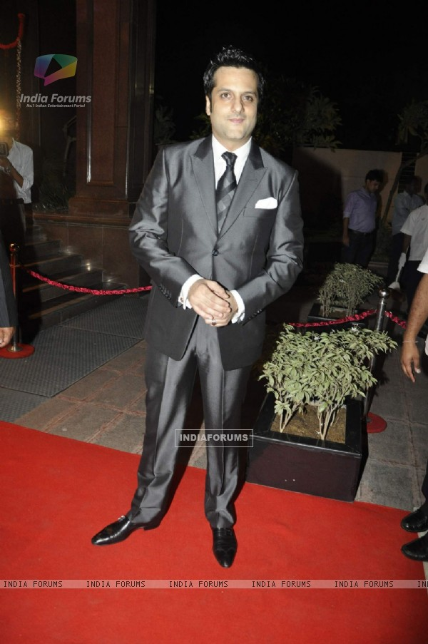 Fardeen Khan''s sister Laila Khan''s wedding reception to Frahan Furniturewala at Taj Land''s End