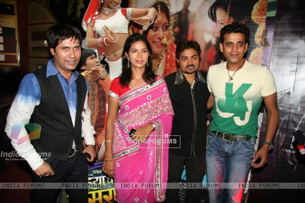 "Ravi Kishan at the premiere of Bhojpuri film ""Bhaiya Je Sasurai Mein"" at Fame"