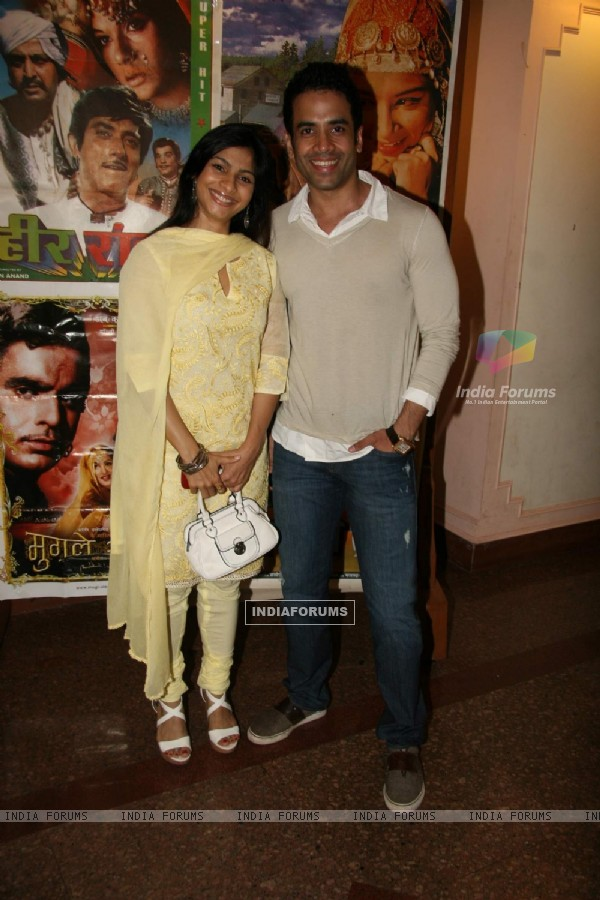 Tanisha and Tushar at Dignity Film festival at Ravindra Natya Mandir
