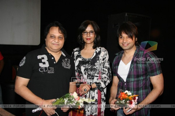 Bollywood actress Zeenat Aman at Kashish Film festival at PVR, Juhu