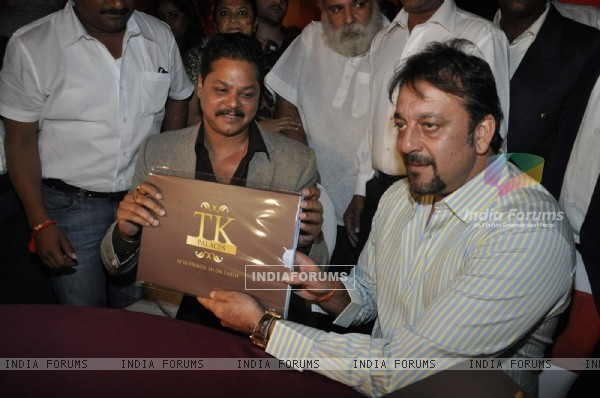Sanjay Dutt launches TK Palaces at JW Marriott