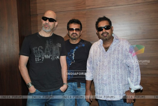 Shankar, Ehsan and Loy at Inspiration world tour press meet