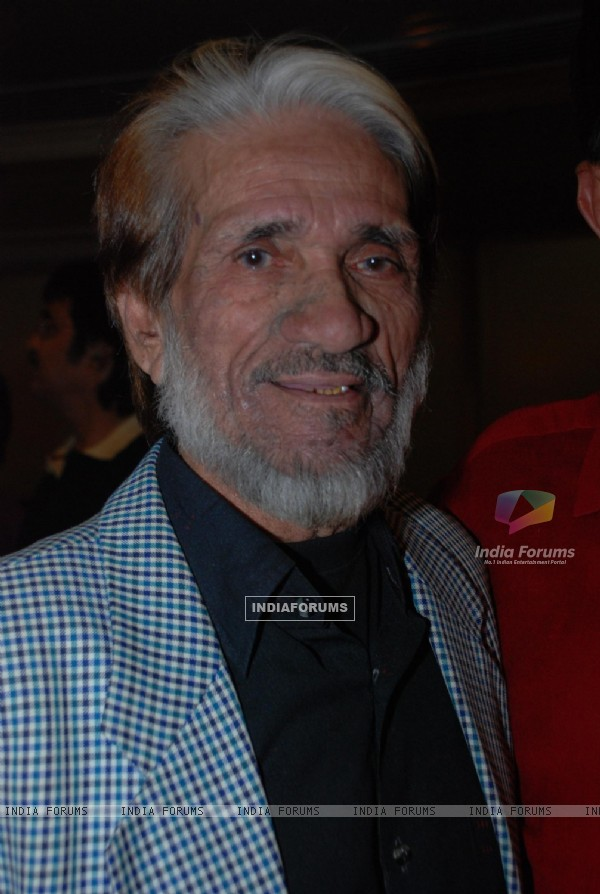 Bollywood actor Mac Mohan who passed away May 10 due to cancer at one of his public appearances