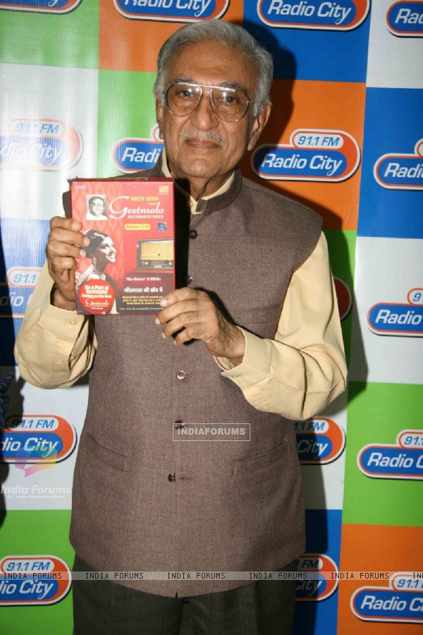 Ameen Sayani launches Geetmala Ki Chhaon Mein'' - Vol 11-15 on Radio City 911 FM