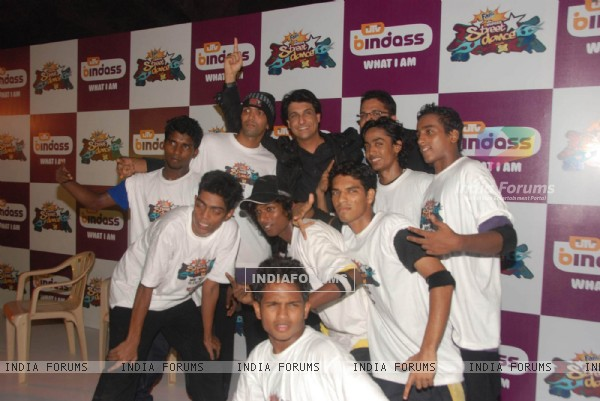 Shiamak Davar at UTV Bindass Dance Reality Show on street dancing at Mehboob Studios