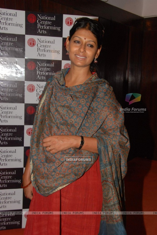 "Bollywood actress Nandita Das at the screening of ""Halo"" at NCPA, Mumbai"