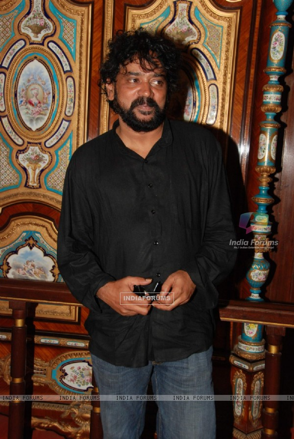 "Filmmaker Santosh Sivan at the screening of ""Halo"" at NCPA, Mumbai"