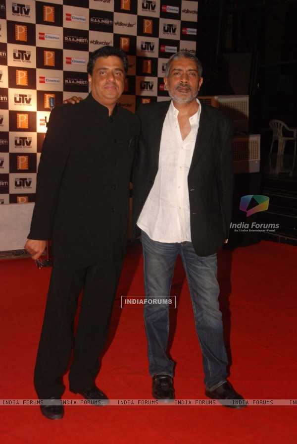 Prakash Jha at ''Raajneeti'' premiere at IMAX