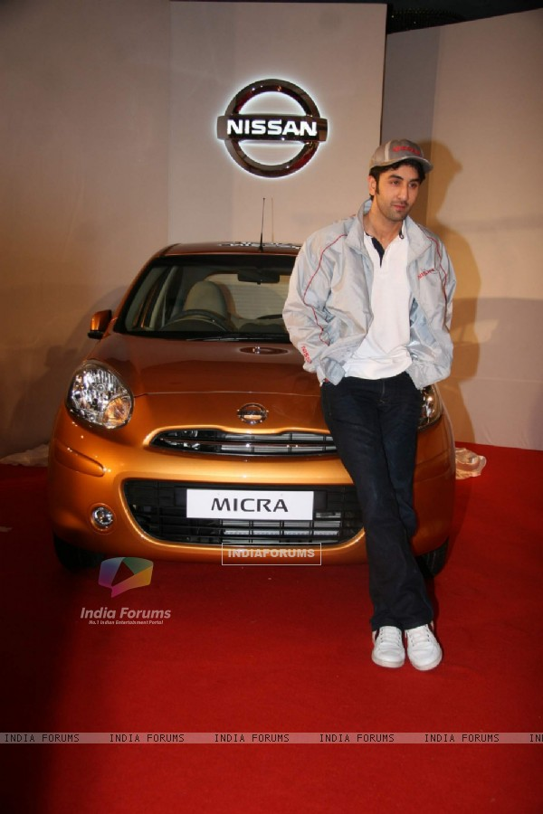 Ranbir Kapoor as the new ambassador for NISSAN