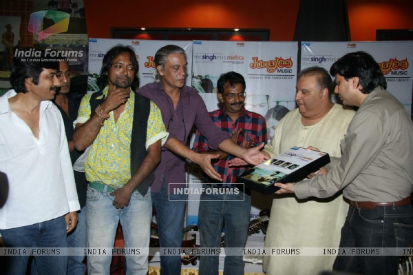 """Mr Singh Mrs Mehta"" film music launch at Landmark"