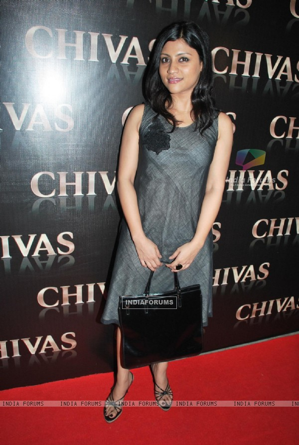 Bollywood actress Konkona Sen Sharma at the Chivas Studio at Aurus in Mumbai Sunday