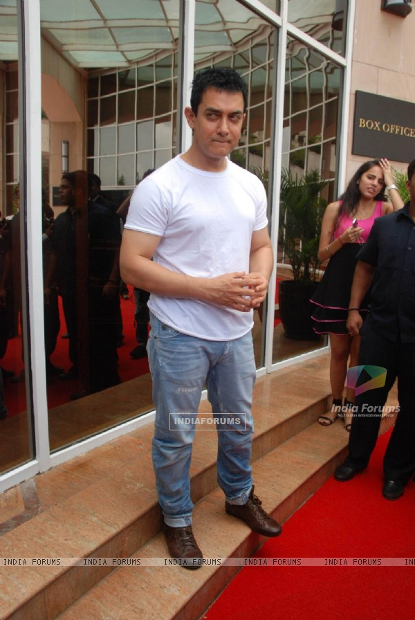 Bollywood actor Aamir Khan unveils