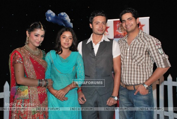 Celebs at Star Plus serial Chand Chupa Badal Mein on location at Film City