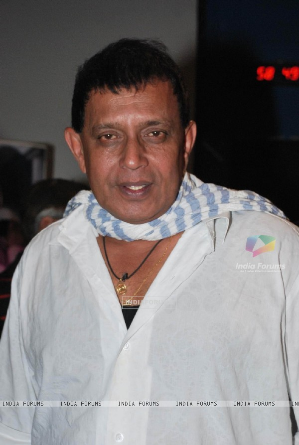 Mithun Chakraborty at Bengali film Shukno Lanka premiere at Fame ...