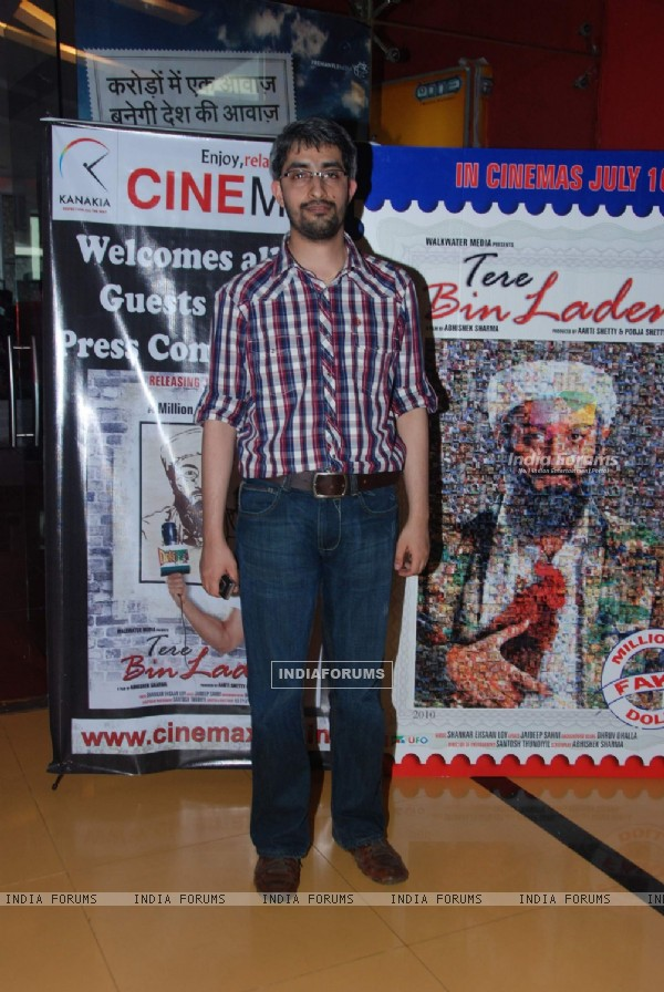 Tere Bin Laden press meet at Cinemax