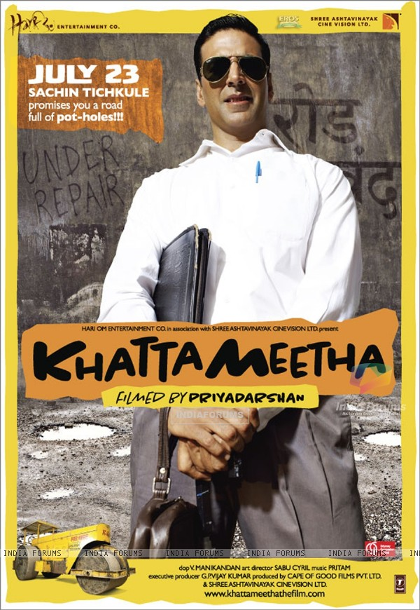 Poster of the movie Khatta Meetha(2010) (89525)