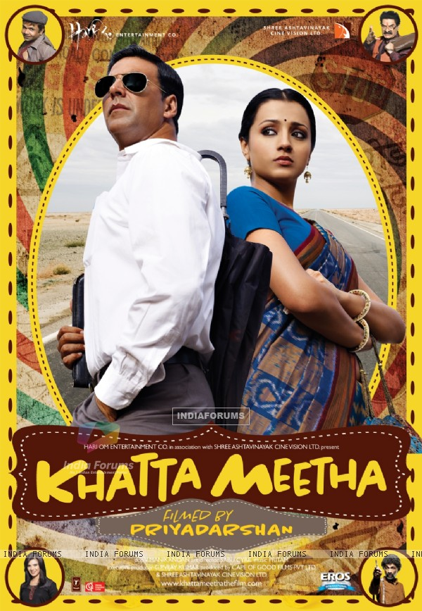 Poster of the movie Khatta Meetha(2010) (89529)