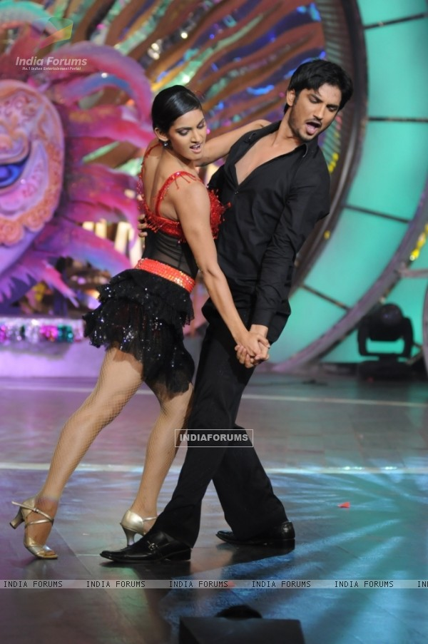 Mukti and Sushant dancing