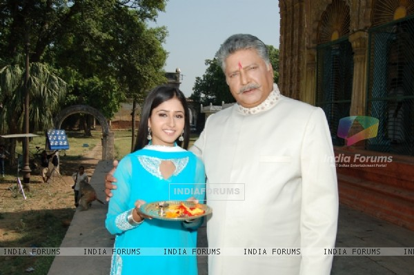 Sana and Vikram as Father and Daughter