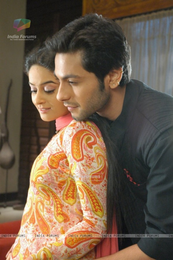 Lovable scene of Nakusha and Dutta
