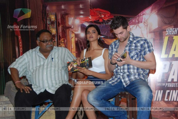 Deepika Padukone and Neil Nitin Mukesh at