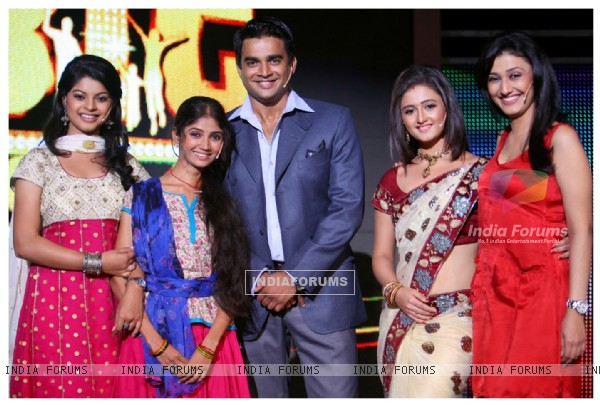 Madhavan with Tv Stars