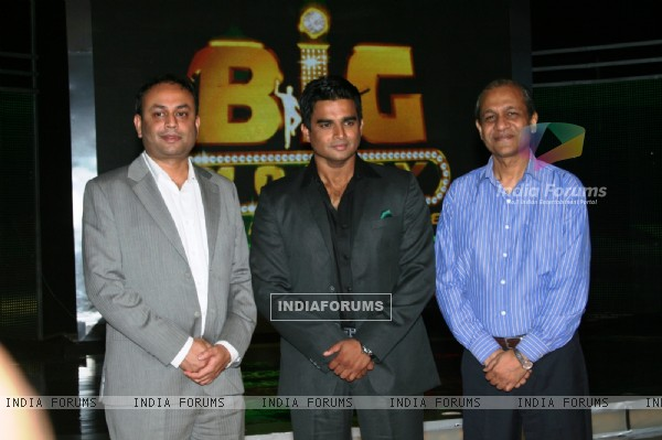 R. Madhavan with Mr. Harsh Rohatgi and Mr. Basu