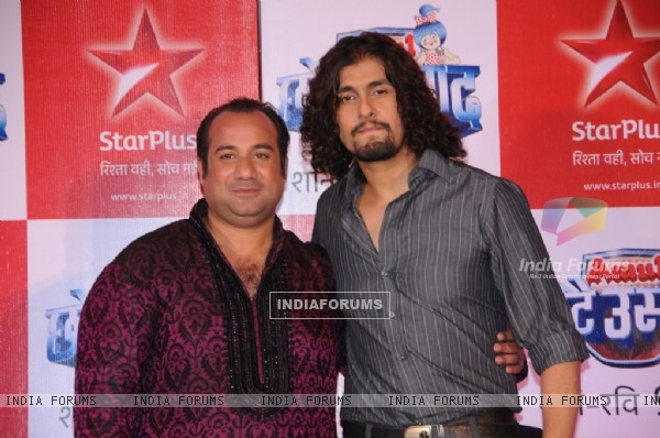 Rahat Fateh Ali Khan & Sonu Nigam as a judges