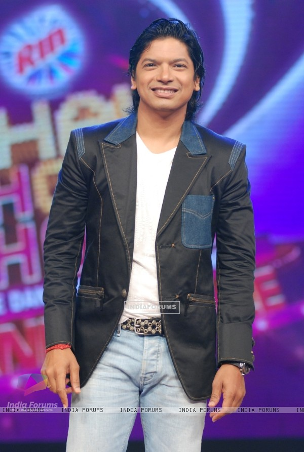 Shaan on Chak Dhoom Dhoom finale