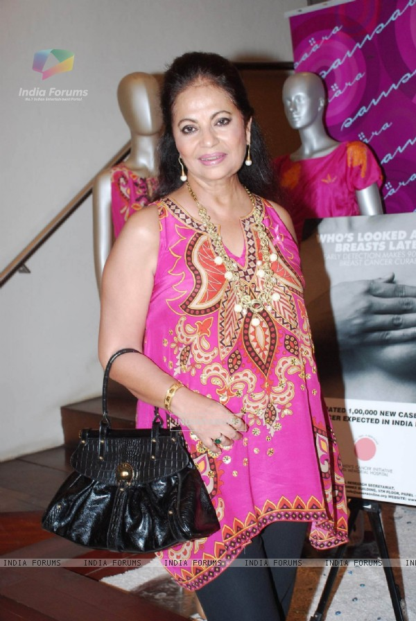 Breast Cancer Awareness fashion event at Samsara Colaba