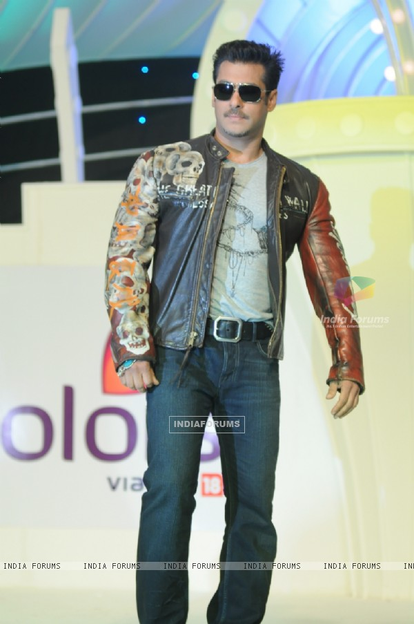 Salman Khan at the press conference of Colors Bigg Boss 4